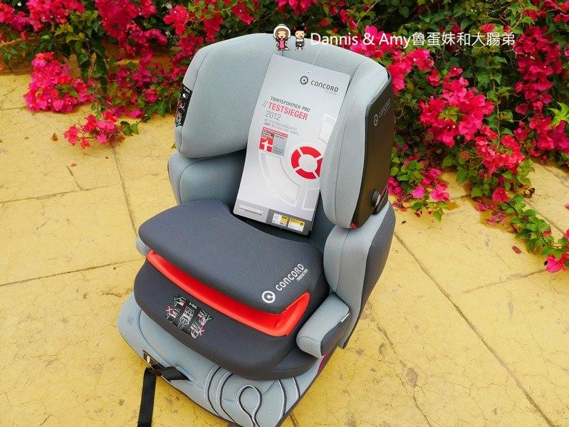 《兒童汽車安全座椅的選擇和重要性》德國CONCORD Transformer Pro兒童汽車安全座椅(變形金剛汽座開箱)。ISO-FIX的方便性︱影片