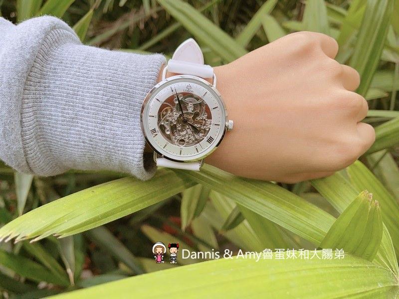 男女情侶錶︱奢華感爆棚的LOBOR鏤空機械錶。高貴不貴的情人節禮物生日禮物(影片)